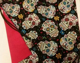 Drawstring backpacks, Candy skulls