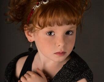 Vintage Valentine Day serre-tête, bandeau bébé, enfant en bas âge serre-tête, bandeau ADO-adulte,, fille de fleur Jewerly, Gatsby, accessoires pour cheveux, Marathon