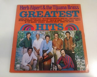 Herb Alpert and The Tijuana Brass - Greatest Hits NM Re-issue Press A&M SP-4245 Record 1976 - Play Tested Latin Pop jazz