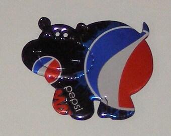 Hippo Magnet  - Pepsi MAX Soda Can (Replica)