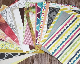 20 Assorted Project Life Journaling Cards