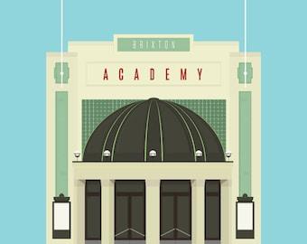 Brixton Academy Art Print