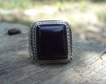 Sugilite Ring in Sterling Silver ... Made to Order