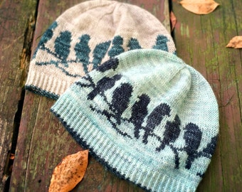 PDF Knitting Pattern - Passerine Hat