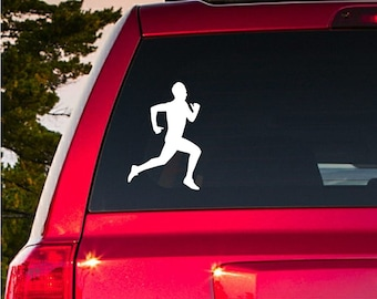 BUY2GET1FREE Male Runner Decal Car Truck Sticker Gift