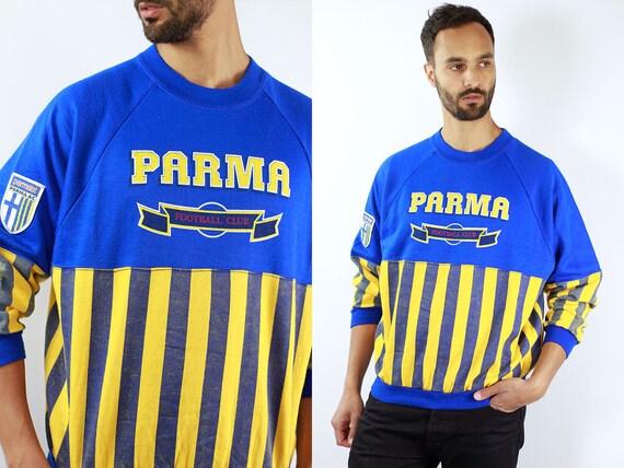 Vintage Football Sweatshirt Vintage Sweater Sports Sweat Shirt Vintage 80s Sweater 80s Sweatshirt 80s Football Sweater Blue Sweatshirt Retro