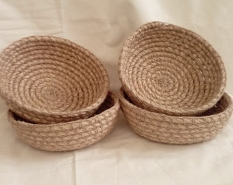 Crochet Rope Bowl