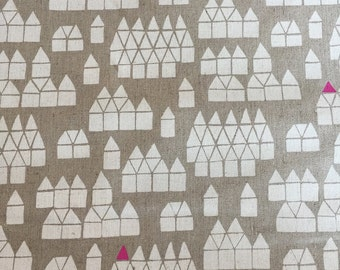 Maker Maker by Sarah Golden for Andover Fabrics Village on Neutral