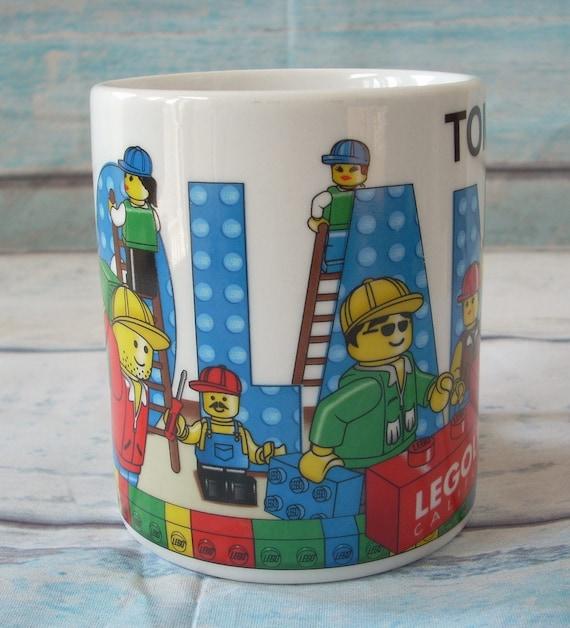 LEGOS COFFEE MUG Tea Cup / Legoland California Theme Park /