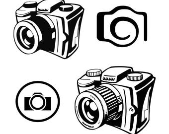 Camera svg Photography svg Photographer svg Camera flash svg Cut File Silhouette SVG Cricut Cutting File Clipart Camera Clipart Graphic