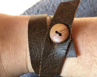 The Zach - Double Wrap Bracelet