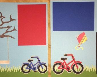 Bike Riding Layout