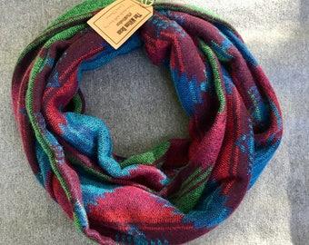 Multicolor Blanket Infinity Scarf
