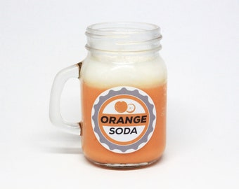 Orange Soda Soy Candle