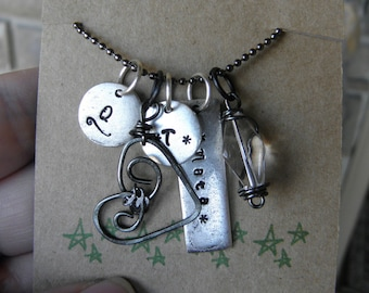 Custom Necklace for Nanny or Babysitter