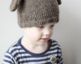 Baby Dog Hat KNITTING PATTERN / Baby Hat Dog / Baby Boy Puppy Hat / Newborn Puppy Hat / Puppy Hat / Puppy Dog Photo Prop / Dog Beanie