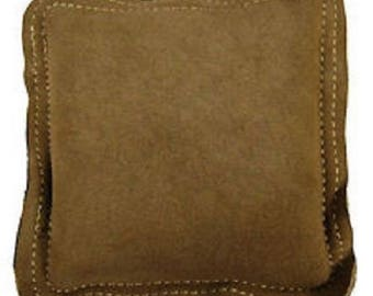 9 Inch Leather Sandbag Square Jewellers Jewellery Metalworking Double Stitched