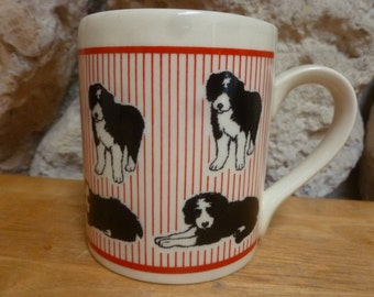 Border Collie dog mug by McLaggan Smith Scotland