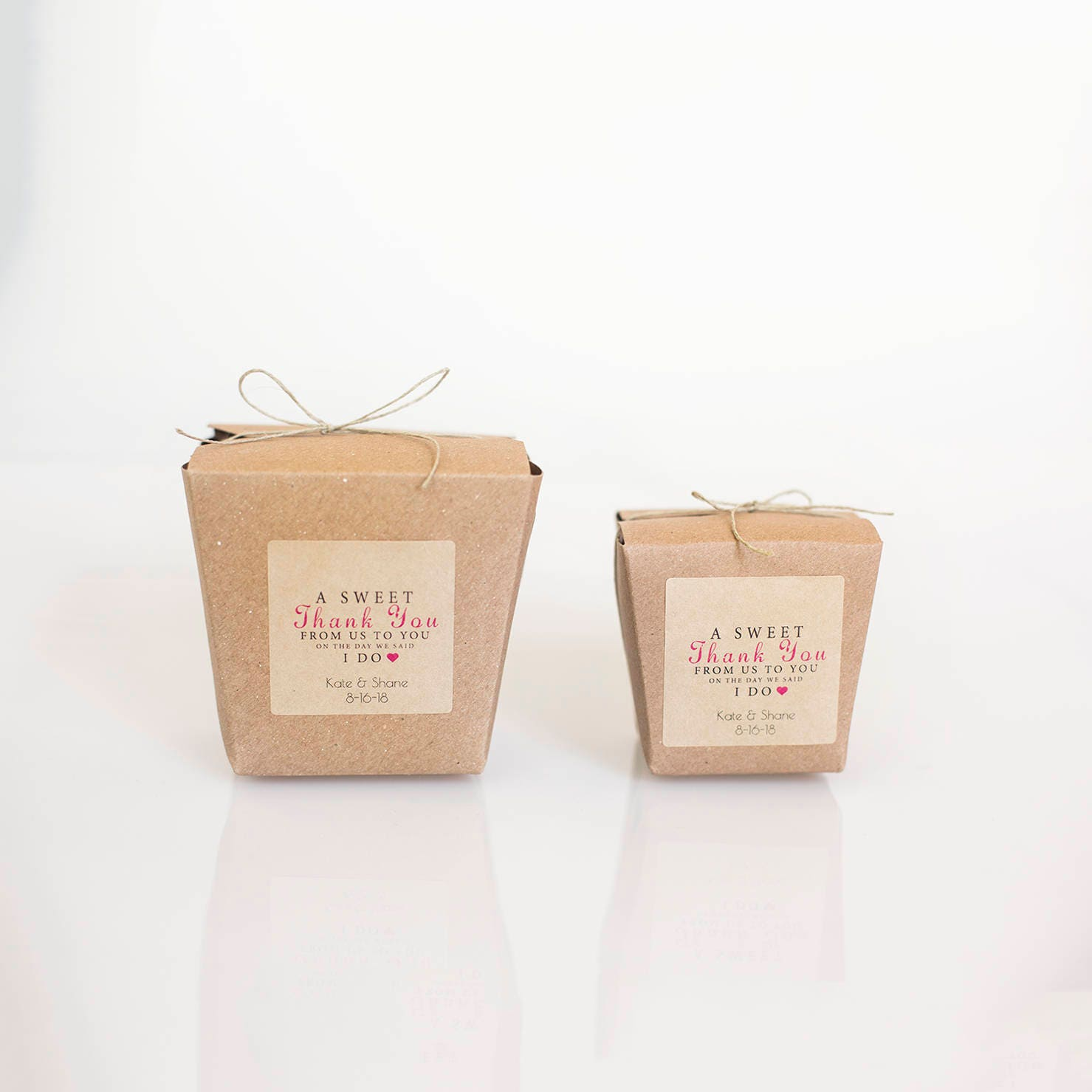 8oz or 16 oz Chinese Take out Boxes |Set of 150| Brown Kraft 100 ...