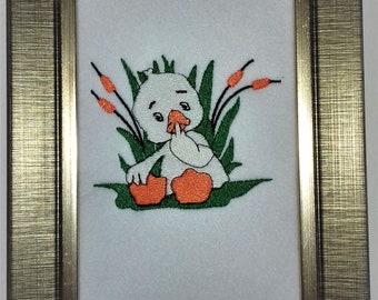 Cute Duckling Picture Gift