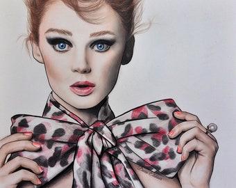 Lisa Cant (Print) by Daria Elshiner