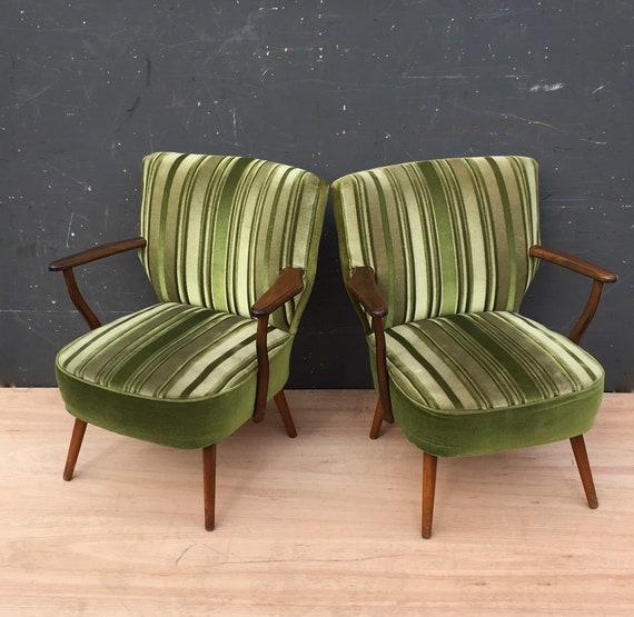 Vintage 1960's West German Cocktail Chairs