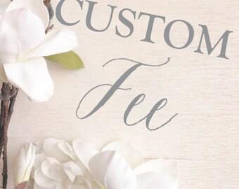 Customization Fee - 70 4.5 inch circle labels