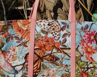 Butterfly motif bag