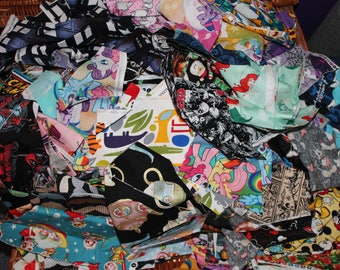 Fabric remnant - lucky dip scrap bundle