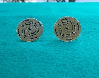 Vintage Beto Taxco  Sterling Silver Earrings