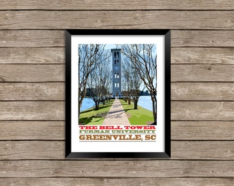 Furman University Bell Tower, Greenville, South Carolina
