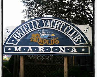 Shore - Brielle Yacht Club Coaster