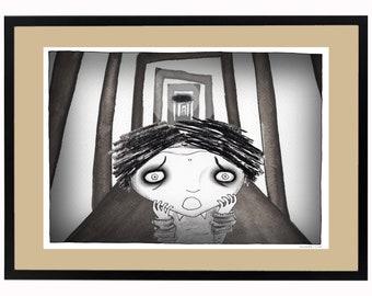 Signed Digital Print - Jonah the WorryBoy