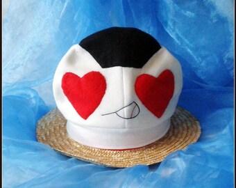 CAP Youth onigiri falls in love with hand sewn Onigirimütze Cosplaymütze fleece