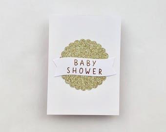 BABY SHOWER, greeting card, baby, congrats, new mum
