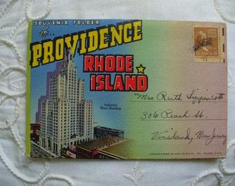 Providence, R.I. Postcard Folder