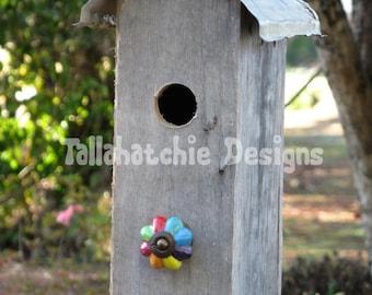 birdhouse outdoor, country garden birdhouse, rustic birdhouse, primitive birdhouse, outdoor birdhouse, barnwood birdhouse