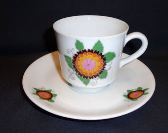 Mitterteich Bavaria cup and saucer