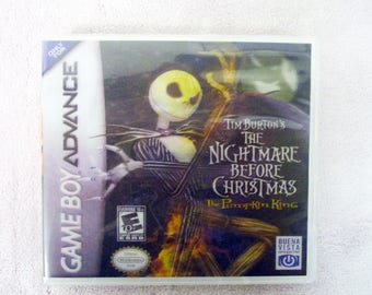 Nightmare Before Christmas: The Pumpkin King, The GBA - GameBoy Advance Custom Case  (***No Game***)