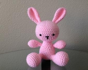 Crochet Amigurumi Easter Bunny Plushie - My Little Cuddle Bunny