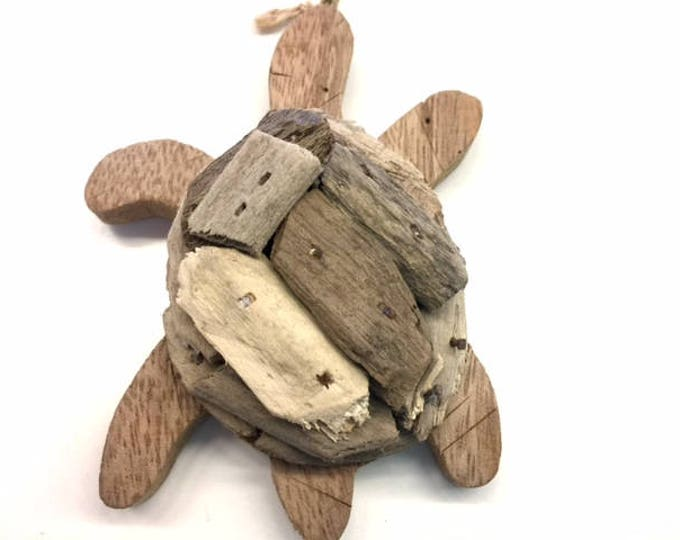 turtle Christmas tree wooden ornament nautical decor Outer Banks turtle lovers NEST home coastal living holiday Beach House Dreams Home OBX