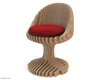 Nova Chair - CNC Cut Parametric Chair