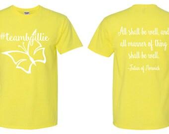 Lupus Walk Shirt---Brittney Gilleland