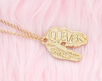 Clever Girl Jurassic Park necklace