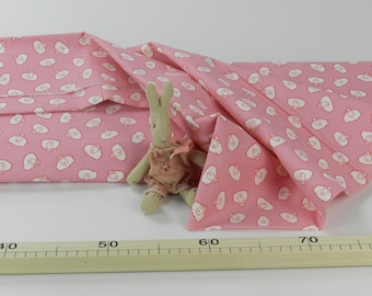 Printed  cotton fabric for kids:   Cotone Junge Linie, Pecorelle