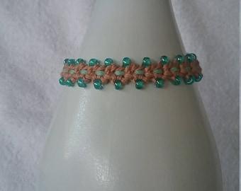 Friendship Bracelet/Ankle Bracelet/Crochet Bracelet/Birthday Gift/Anklet/Gift For Teen/Teen Bracelet/Seed Bead Bracelet/Best Friend/