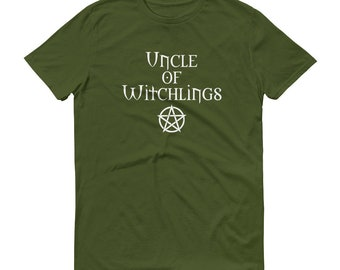 Uncle of Witchlings Cheeky Witch® T-Shirt