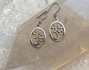 Aum (Om) Charm Earrings