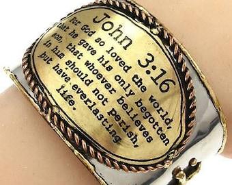 Bible Quote Bracelet