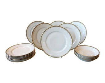 French Limoges China - Set of 16